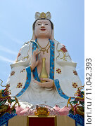 Купить «Kuan Yin image of buddha Chinese art.», фото № 11042393, снято 19 августа 2018 г. (c) PantherMedia / Фотобанк Лори