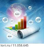 Купить «Business graph», фото № 11058645, снято 26 мая 2019 г. (c) PantherMedia / Фотобанк Лори