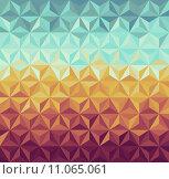 Купить «Retro hipsters geometric pattern.», иллюстрация № 11065061 (c) PantherMedia / Фотобанк Лори