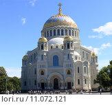 Купить «Военно-морской Никольский собор, Санкт-Петербург», фото № 11072121, снято 1 августа 2015 г. (c) Евгений / Фотобанк Лори