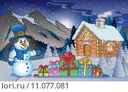 Купить «Christmas outdoor theme 7», иллюстрация № 11077081 (c) PantherMedia / Фотобанк Лори