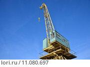 Купить «equipment industry steel industrial crane», фото № 11080697, снято 25 апреля 2019 г. (c) PantherMedia / Фотобанк Лори