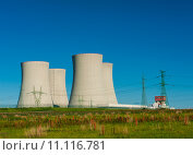 Купить «Nucler power plant», фото № 11116781, снято 13 августа 2018 г. (c) PantherMedia / Фотобанк Лори