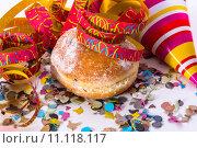 Купить «celebration party carnival confetti cruller», фото № 11118117, снято 22 июля 2019 г. (c) PantherMedia / Фотобанк Лори