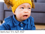 Купить «Asian baby boy crying», фото № 11127157, снято 4 августа 2020 г. (c) PantherMedia / Фотобанк Лори