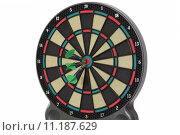 Купить «Darts game, 150 points», фото № 11187629, снято 15 августа 2018 г. (c) PantherMedia / Фотобанк Лори