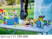 Детский стол (2015 год). Редакционное фото, фотограф Корнеева Ирина Владимировна / Фотобанк Лори
