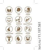 Купить «Zodiac symbol», иллюстрация № 11197561 (c) PantherMedia / Фотобанк Лори