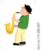Купить «Child saxophone», иллюстрация № 11200457 (c) PantherMedia / Фотобанк Лори
