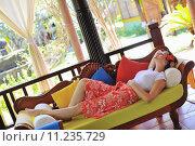 Купить «spa treatment at tropical resort», фото № 11235729, снято 24 июля 2019 г. (c) PantherMedia / Фотобанк Лори