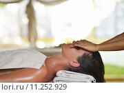 Купить «spa treatment at tropical resort», фото № 11252929, снято 24 июля 2019 г. (c) PantherMedia / Фотобанк Лори