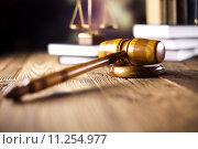 Купить «Judge gavel», фото № 11254977, снято 6 июля 2020 г. (c) PantherMedia / Фотобанк Лори