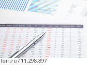 Купить «Data spreadsheet», фото № 11298897, снято 20 сентября 2018 г. (c) PantherMedia / Фотобанк Лори
