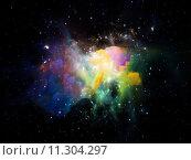 Купить «Cosmic Nebula», фото № 11304297, снято 12 декабря 2018 г. (c) PantherMedia / Фотобанк Лори