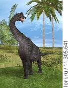 Купить «Dinosaur Brachiosaurus», фото № 11305641, снято 22 мая 2019 г. (c) PantherMedia / Фотобанк Лори