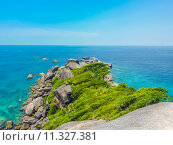 Купить «Similan Island, Koh Eight, Thailand», фото № 11327381, снято 21 февраля 2019 г. (c) PantherMedia / Фотобанк Лори