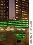 Купить «City at Night Urban Abstract», фото № 11345601, снято 16 октября 2018 г. (c) PantherMedia / Фотобанк Лори
