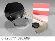 Купить «Latvia Hockey», фото № 11390609, снято 5 июня 2020 г. (c) PantherMedia / Фотобанк Лори