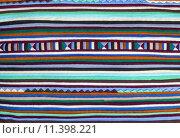 Купить «Colorful  fabric alternation pattern», фото № 11398221, снято 19 января 2019 г. (c) PantherMedia / Фотобанк Лори