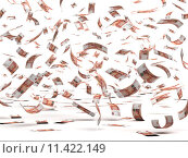 Купить «Flying Russian Rubles», фото № 11422149, снято 15 сентября 2019 г. (c) PantherMedia / Фотобанк Лори
