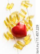 Купить «Cod liver oil. Gel capsules», фото № 11457229, снято 19 марта 2019 г. (c) PantherMedia / Фотобанк Лори