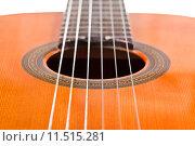 Купить «six nylon strings of classical acoustic guitar», фото № 11515281, снято 16 октября 2018 г. (c) PantherMedia / Фотобанк Лори