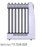 Купить «Oil Heater on White», фото № 11534929, снято 19 марта 2019 г. (c) PantherMedia / Фотобанк Лори