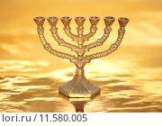 Купить «Golden Menorah», фото № 11580005, снято 18 ноября 2018 г. (c) PantherMedia / Фотобанк Лори