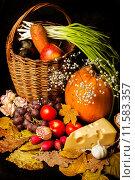 Набор различных натуральных продуктов. Стоковое фото, фотограф katalinks / Фотобанк Лори