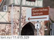 Купить «Neustadt Harz Historisches Stadttor zur Altstadt», фото № 11615329, снято 25 мая 2019 г. (c) PantherMedia / Фотобанк Лори