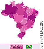 Купить «karte landkarte brasilien brasilienkarte goi», фото № 11620297, снято 25 июня 2019 г. (c) PantherMedia / Фотобанк Лори