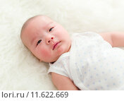 Купить «Cute new born baby», фото № 11622669, снято 18 января 2019 г. (c) PantherMedia / Фотобанк Лори