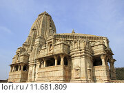 Купить «Kumbha Shyam Temple», фото № 11681809, снято 26 сентября 2018 г. (c) PantherMedia / Фотобанк Лори