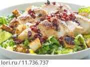 Купить «salad poultry parmesan breast of», фото № 11736737, снято 20 июня 2019 г. (c) PantherMedia / Фотобанк Лори