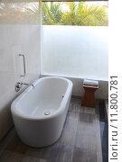 Купить «Luxury Bath», фото № 11800781, снято 13 июля 2020 г. (c) PantherMedia / Фотобанк Лори
