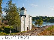 Купить «Церковь Св. Георгия в Старой Ладоге», фото № 11816045, снято 2 августа 2014 г. (c) Юлия Бабкина / Фотобанк Лори