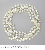 Купить «A close up shot of a pearl necklace», фото № 11914281, снято 23 января 2019 г. (c) PantherMedia / Фотобанк Лори