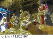 Купить «Christmas creche», фото № 11925861, снято 16 ноября 2019 г. (c) PantherMedia / Фотобанк Лори