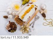 Купить «christmas celebration party dessert xmas», фото № 11933949, снято 13 июля 2020 г. (c) PantherMedia / Фотобанк Лори