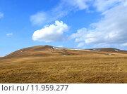 Купить «Осенние горы. Плато Лагонаки в Кавказском биосферном заповеднике, Адыгея», фото № 11959277, снято 15 октября 2014 г. (c) Анна Мартынова / Фотобанк Лори