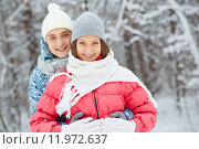 Winter romance. Стоковое фото, фотограф Dmitriy Shironosov / PantherMedia / Фотобанк Лори