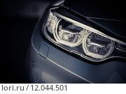 Купить «Car LED headlight», фото № 12044501, снято 27 июня 2019 г. (c) PantherMedia / Фотобанк Лори