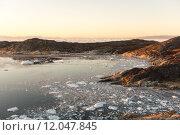 Купить «Arctic landscape in Greenland», фото № 12047845, снято 19 февраля 2019 г. (c) PantherMedia / Фотобанк Лори