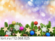 Купить «background christmas backdrop gorgeous frame», фото № 12068025, снято 24 мая 2020 г. (c) PantherMedia / Фотобанк Лори