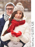 Купить «Winter date», фото № 12073125, снято 12 мая 2020 г. (c) PantherMedia / Фотобанк Лори
