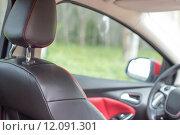 Купить «close up mattress inside auto car», фото № 12091301, снято 27 июня 2019 г. (c) PantherMedia / Фотобанк Лори