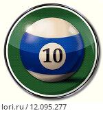 Купить «blue gambling 10 end ten», иллюстрация № 12095277 (c) PantherMedia / Фотобанк Лори