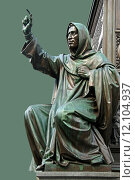 Купить «florence dominican monk fanatic prophet», фото № 12104937, снято 16 июня 2019 г. (c) PantherMedia / Фотобанк Лори