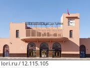 Купить «Gare de Marrakech - old train station in Marrakesh », фото № 12115105, снято 18 июня 2019 г. (c) PantherMedia / Фотобанк Лори