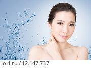 Купить «Asian beauty face», фото № 12147737, снято 26 марта 2019 г. (c) PantherMedia / Фотобанк Лори